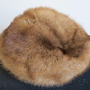 Vintage Hudson's Bay Company Mink Hat